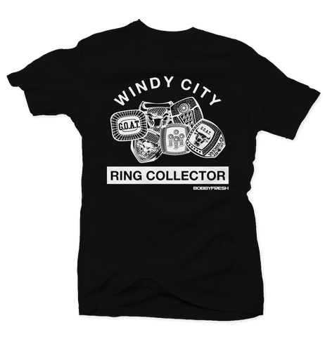 Ring Collector Blk/Wht Tee