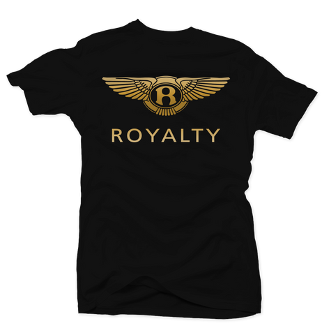Royal Wings Black/Gold Tee