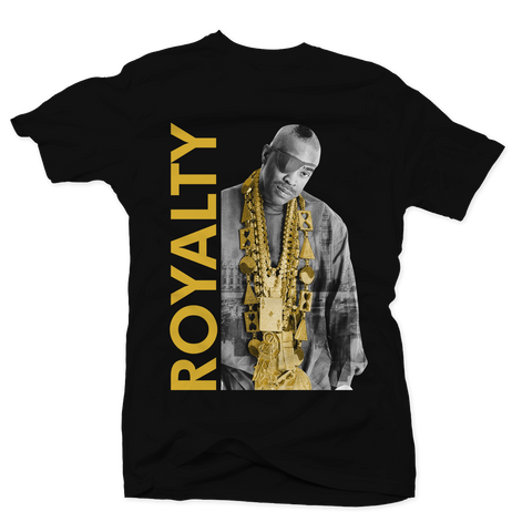 Royalty Black/Gold Tee