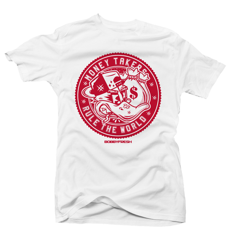 Rule The World History of Flight White Tee