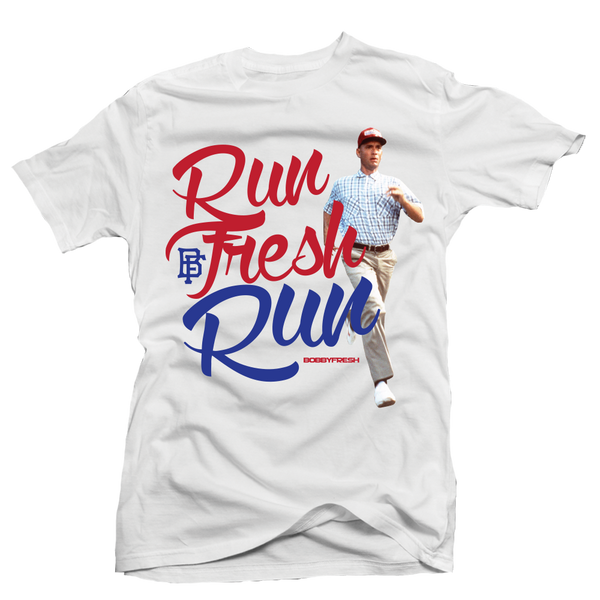 Run Fresh White Tee