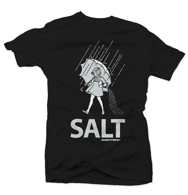 Salt Black Tee - Bobby Fresh