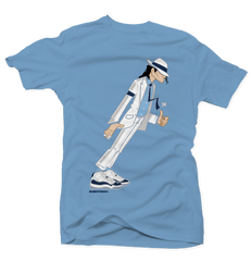 Smooth Criminal Carolina/Navy Tee