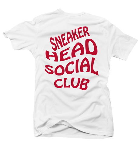 Sneaker Head Social History of Flight White Tee