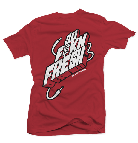 So Fresh Red/Carmine Tee