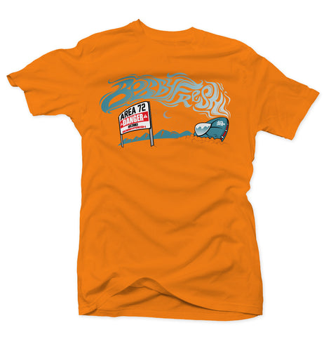 Space Wreck Orange/Green Kobe Tee