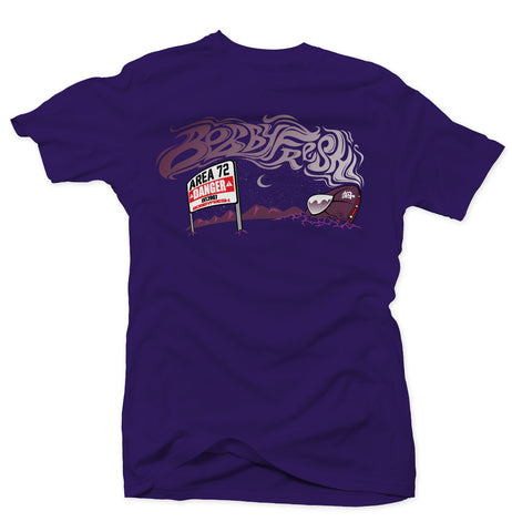 Space Wreck Purple/Grey Lebron Tee