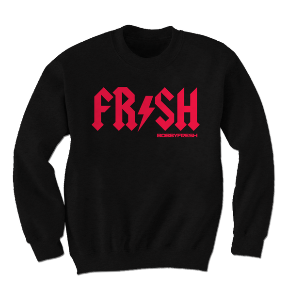 Squealer Black Infrared Crewneck