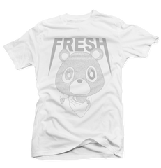 Static Bear White Tee