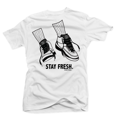 Stay Fresh White Tee