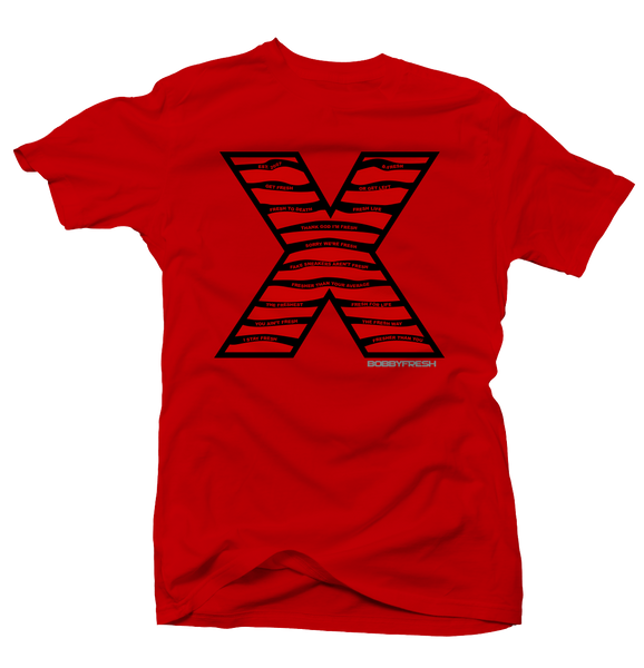 Steel X Red Tee