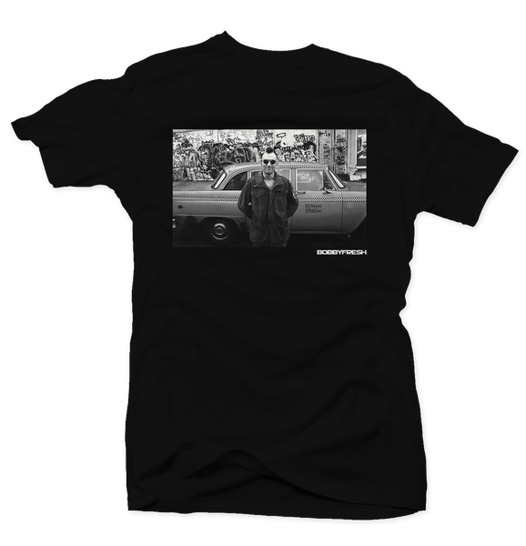 Taxi Driver Black Tee