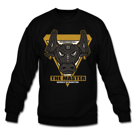The Bull Black Crewneck