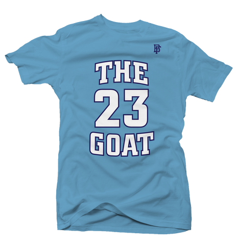 The Goat Blue Tee