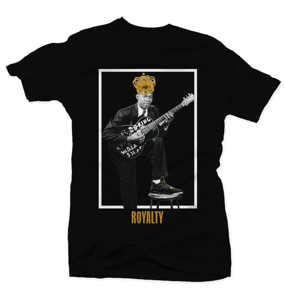 The King Black/Gold Tee