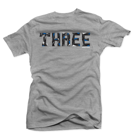 Trifecta Sport Blue Heather Grey Tee