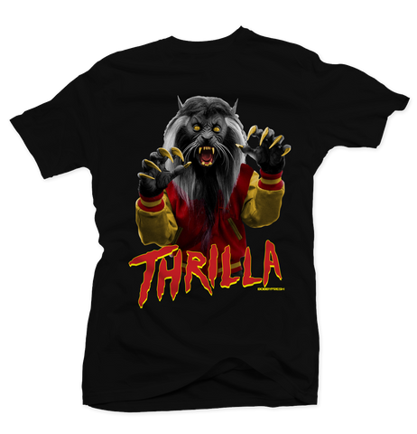 Thrilla Ferrari Black Tee