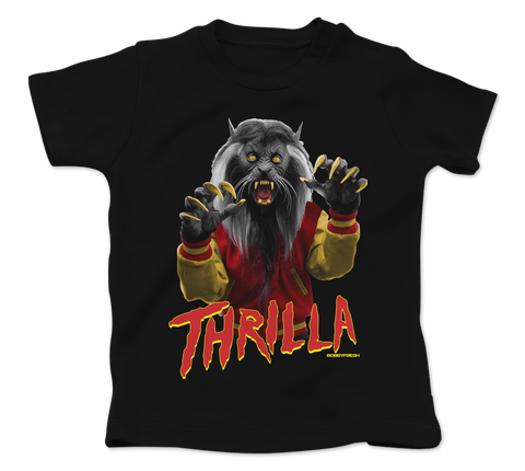 Thrilla Black Baby Fresh Tee