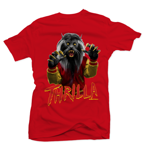 Thrilla Ferrari Red Tee