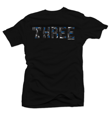 Trifecta Sport Blue Black Tee
