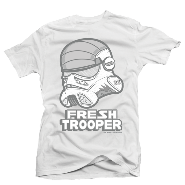 Trooper White Tee