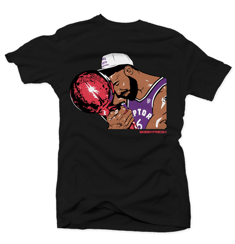 Trophy Blk/Purple/Red Tee