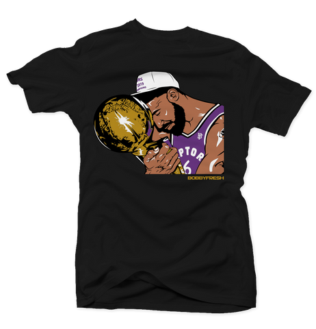 Trophy Blk/Purple Tee