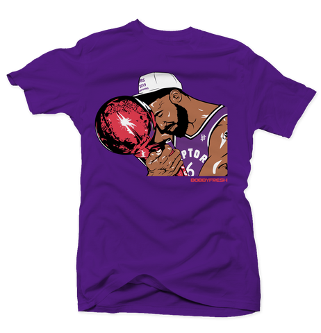 Trophy Purple/Red Tee