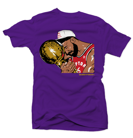 Trophy Purple Tee