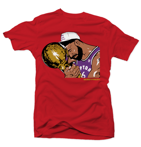 Trophy Red/Purple Tee
