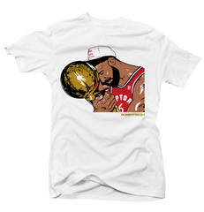 Trophy Wht/Gold/Red Tee