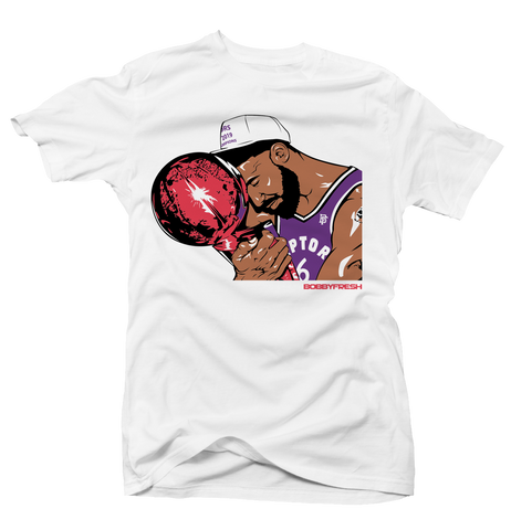 Trophy Wht/Purple/Red Tee