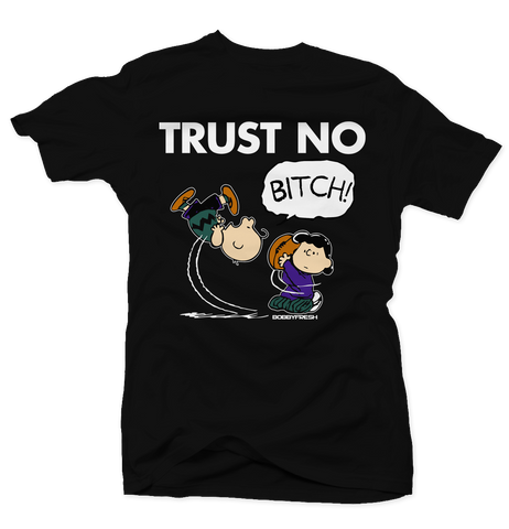 Trust No Bucks Black Tee