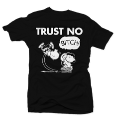 Trust No Black Tee (REVERSE HE GOT GAME)