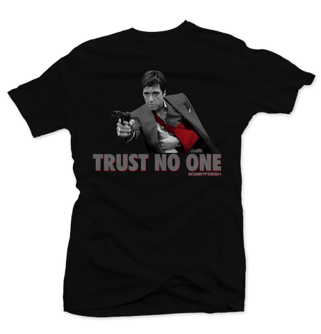 Trust No One (Cement 8's)  Tee