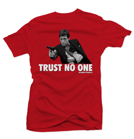 Trust No One (Fire Red)  Tee
