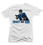 Trust No One (Flint 13's) White Tee - Bobby Fresh