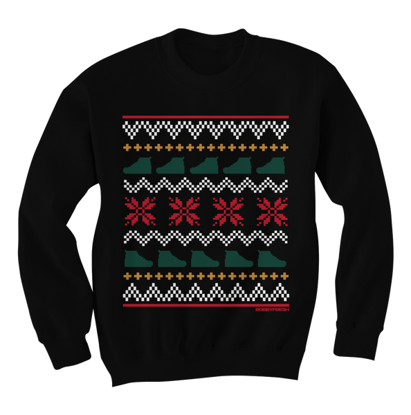 Ugly Sweater Black Gucci Crewneck - Bobby Fresh