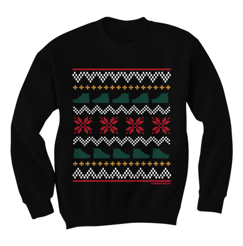 Ugly Sweater Black Gucci Crewneck