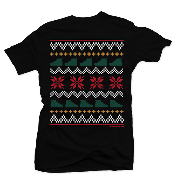 Ugly Sweater Gucci Black Tee - Bobby Fresh