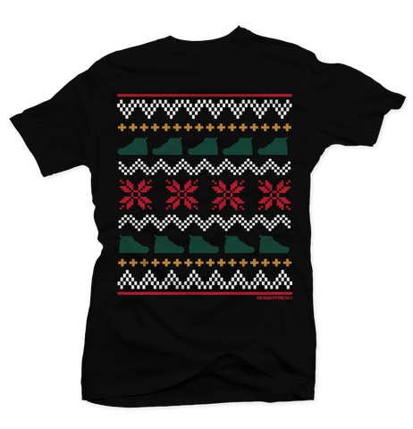 Ugly Sweater Gucci Black Tee