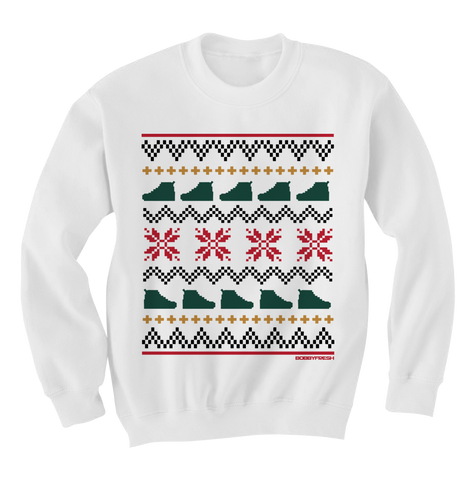 Ugly Sweater White Gucci Crewneck