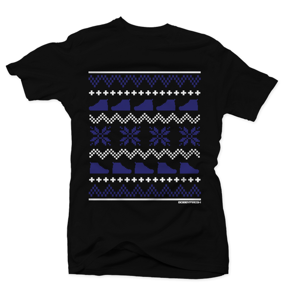 Ugly Sweater Space Jam Black Tee - Bobby Fresh