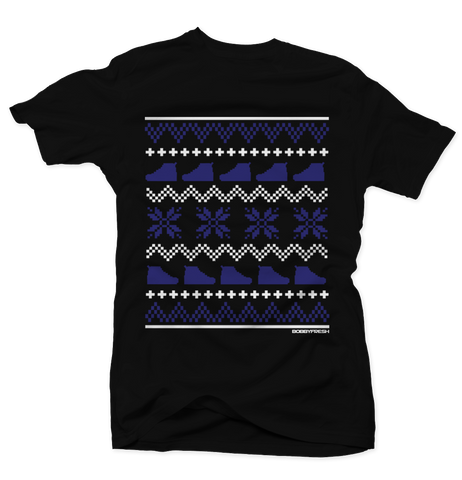 Ugly Sweater Space Jam Black Tee