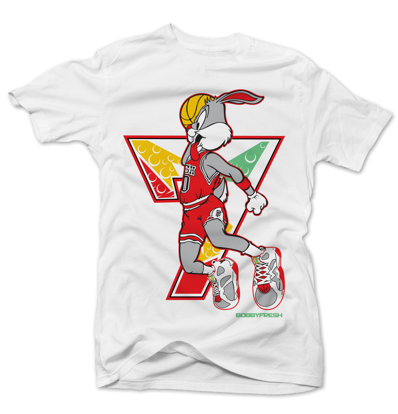 Air Rabbit White Tee - Bobby Fresh