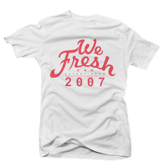 We Fresh Hot Lava White Tee