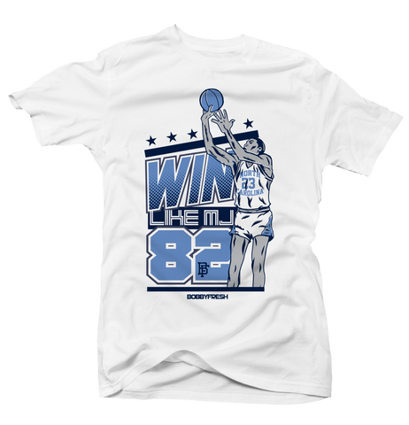Win Like Mj White Tee