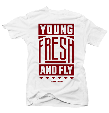 Young Fresh and Fly Alternate 6 Tee