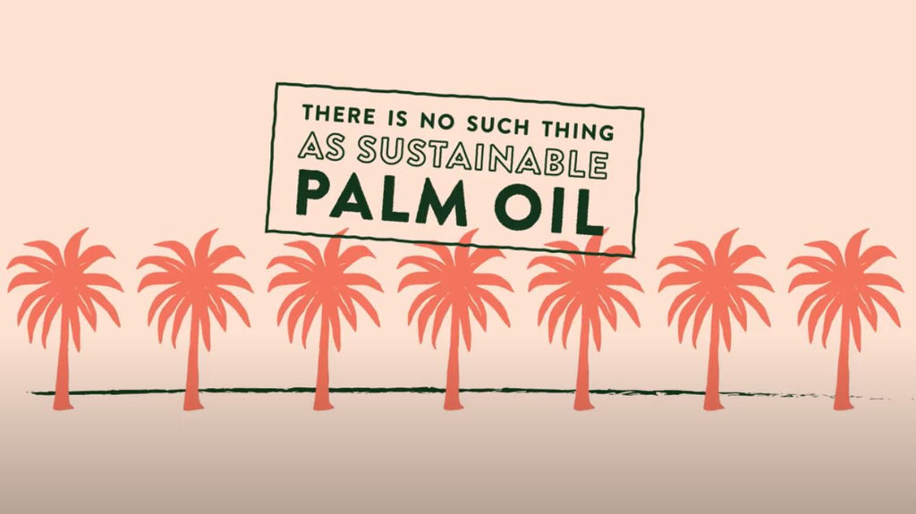100% palm oil-free products