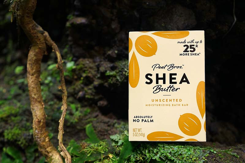 unscented shea butter soap